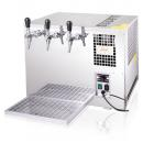 AS-110 Inox Green Line | Tropical beer cooler with 3 taps (CO2)