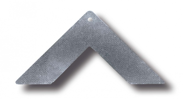Zinc coated angle for Invisible flange 20 mm