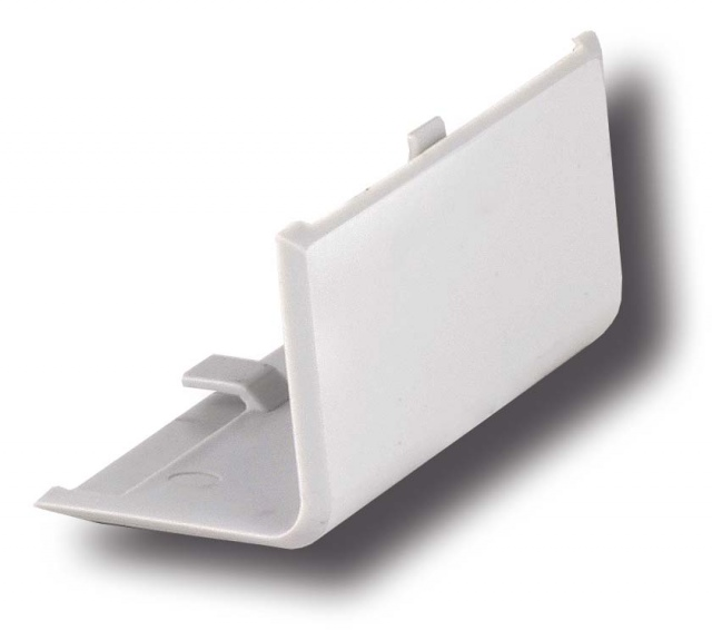 Covering angle for Invisible flange 30 mm, nylon