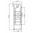 CC 725 GD+ (SCH 602) Glass door cooler