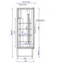 CC 1200 (SCH 800) Solid door cooler with double door