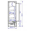 GRANDIS SGD 1.25/0.7 | Refrigerated wall cabinet