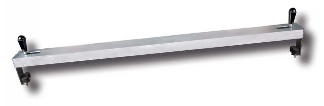 Clamping ruler, aluminium 1,2 m
