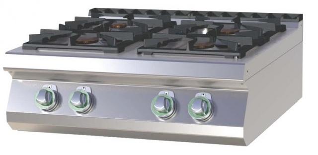 SPS-708 G Maşină de gătit pe gaz cu 4 arzătoare