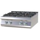 Maşină de gătit pe gaz cu 4 arzătoare | SPS 708 G