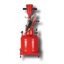 Pneumatic glue spreader - Capacity 15 kg of glue