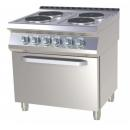 SPT-780-21 E - Electric range with oven