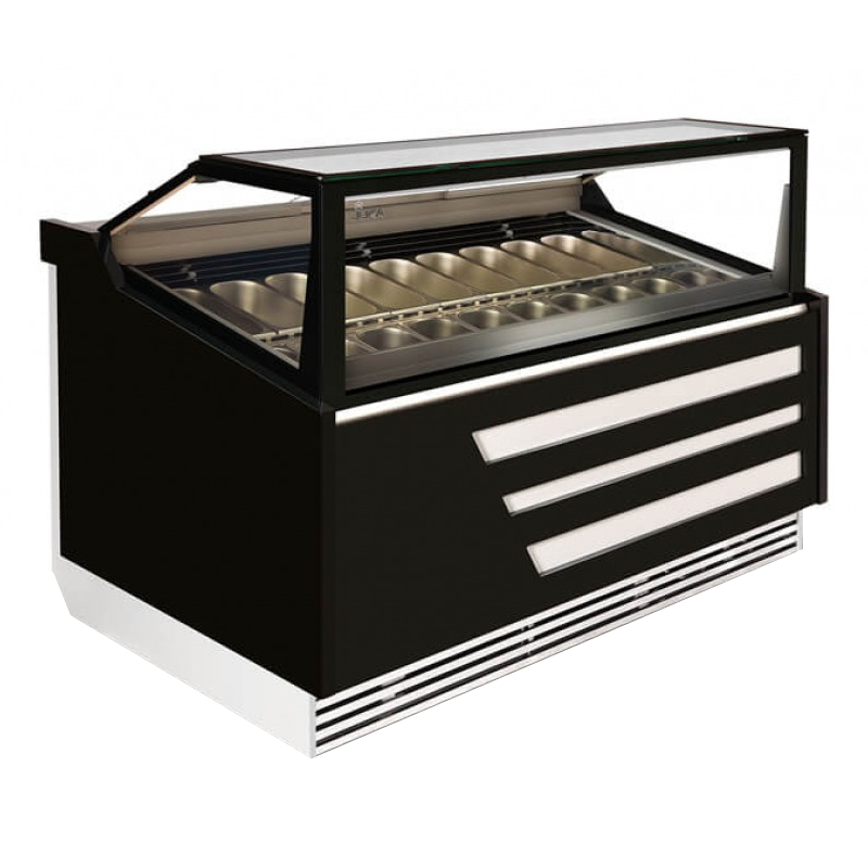 K-1 Par 18 - Paradiso Ice Cream Counter for 18 flavours