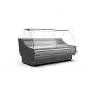 WCh-7/1 1330 - Refrigerated counter with curved glass for ext. aggr.