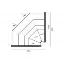 WCH-7/1 Nw 1315 OFELIA   Corner counter plug in (D)