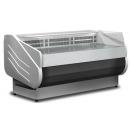Counter with straight glass with built-in aggr. | SALINA80VD-100