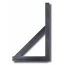 Derékszögű vonalzó alumínium profilból 0,7 m