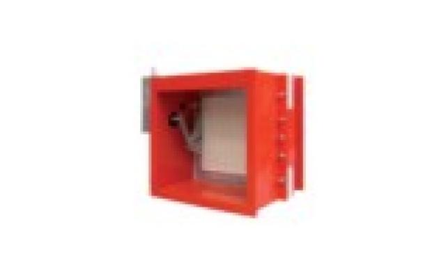 Fireproof damper for rectangular duct