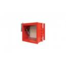 Fireproof damper for rectangular duct