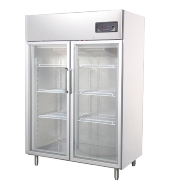 Vitrină frigorifică verticală GNC1400L2G INOX
