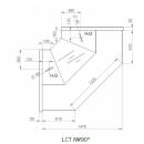 LCT Tucana NW - Internal corner counter 90°
