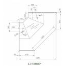 LCT Tucana NW - Internal corner counter 90°