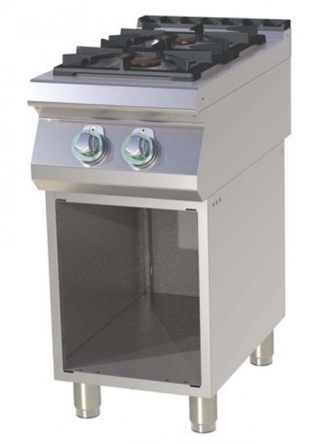Maşină de gătit pe gaz cu 2 arzătoare pe suport | SPS 740 G