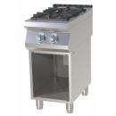 SPS-740 G Maşină de gătit pe gaz cu 2 arzătoare şi suport