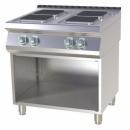 Mașină de gătit electrică cu 4 plite pe suport | SPQ 780 E