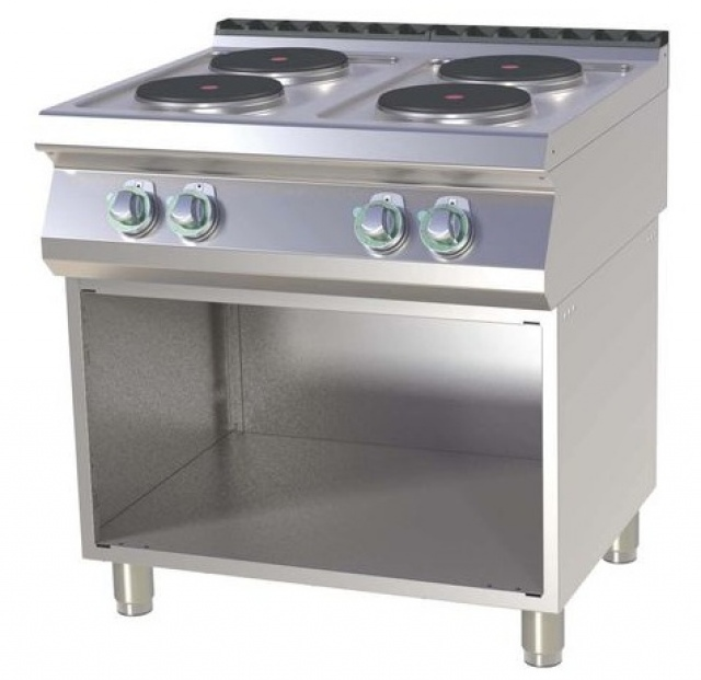 SP 780 E - Electric range with base