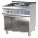 Maşină de gătit electrică cu 4 plite pe suport | SP 780 E