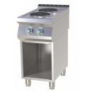 Maşină de gătit electrică cu 2 plite pe suport | SP 740 E
