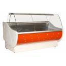 Vitrină frigorifică orizontală cu geam curbat Europa | L-1 ER 110/110
