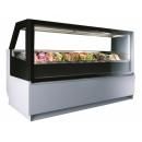 Limosa 1,2 Ice cream counter with 12 ice cream jars