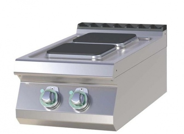 SPQ-704 E Mașină de gătit electrică cu 2 plite pătrate