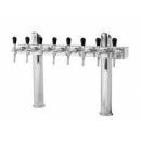 Coloana de bere dublă cu opt robineți