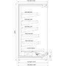 Raft frigorific cu agregat extern R-1 PR 130/90
