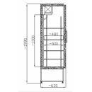 Dulap frigorific SCH 400 INOX