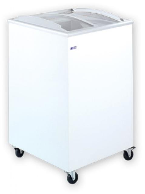 UDD 100 SCBG Mélyhűtőláda csúszó domború üvegtetővel