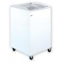 UDD 100 SCBG Chest freezer with sliding curved glass top