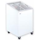 Ladă congelatoare cu capac înclinat și geamuri glisante drepte | UDD 100 SCEG