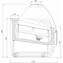 Vitrină frigorifică pentru îngheţată K-1 BT 24 BISCOTTI