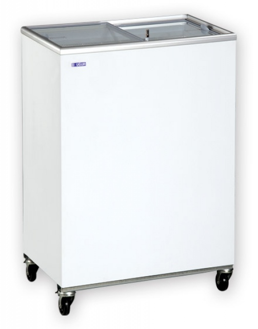 UDD 100 SCG Chest freezer with sliding glass door
