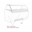 K-1 SR 16 SORBETTI - Ice cream counter for 16 flavours