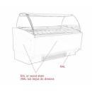 Vitrină frigorifică pentru îngheţată K-1 SR 24 SORBETTI