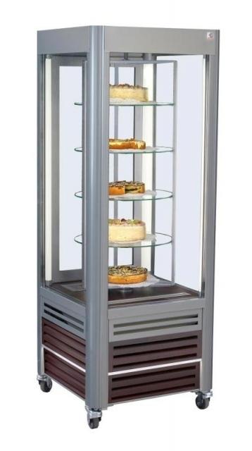 SCA Antila 02 - Süteményes vitrin forgó üvegpolcokkal