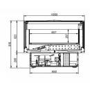 WMC Calypso 02 1,5 - Freezer island buildt-in unit