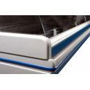 LCD DORADO B/A 1,2 Vitrină orizontală cu agregat extern cu geam curbat