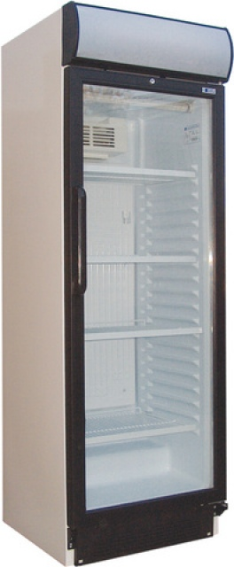 USS 440 DTKL - Glass door cooler with display
