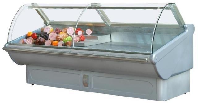 Vitrină frigorifică orizontală cu geam frontal telescopic LPT Tucana 1,25