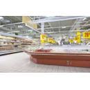 Vitrină frigorifică de colţ exterior 90° pentru autoservire | LCT Tucana 01 SELF EXT90
