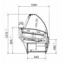 Vitrină frigorifică pentru îngheţată LMS Sagitta 1,4