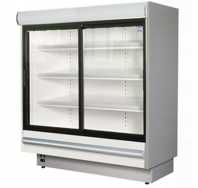 Refrigerated wall counter with sliding glass doors RCh-2 1.5/0.9 DAVOS