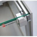 Vitrină frigorifică de colț interior 45° | LCK Kolumba REM INT45