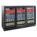 Vitrină frigorifică pentru bar cu trei uși glisante | LG-330S